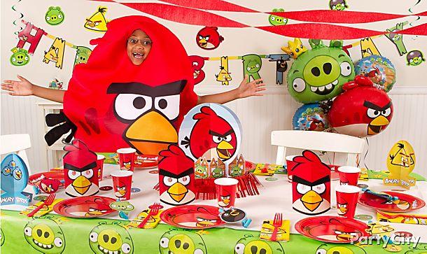 festa infantil angry birds