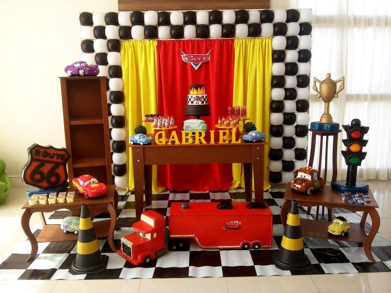 decoração de aniversário festa infantil carros