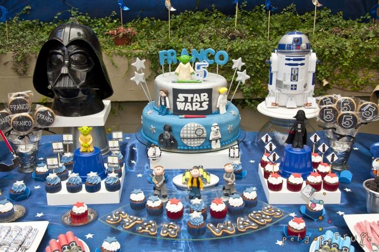 Ideias de decoração para festa star wars
