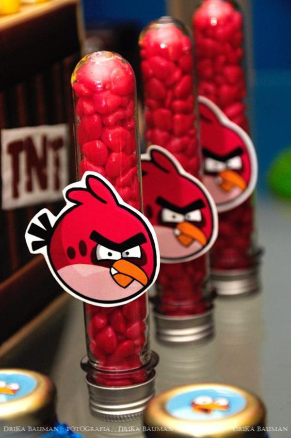 lembrancinha docinhos angry birds