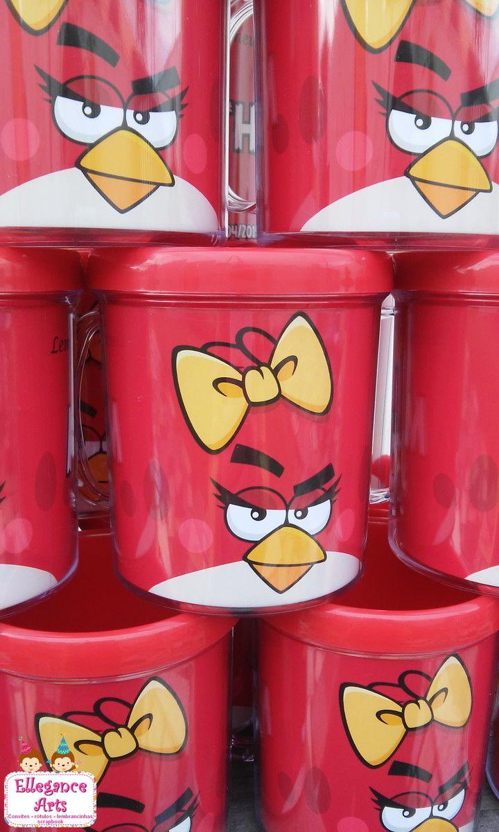 latinhas decorativas de lembrancinha angry birds