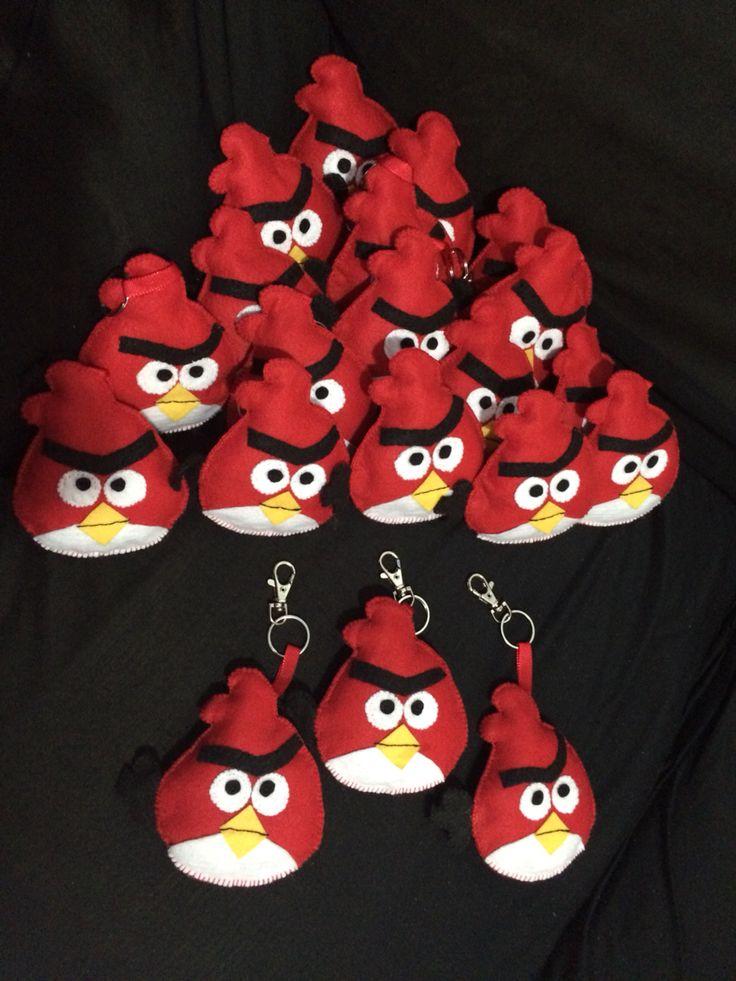 lembrancinhas chaveirinhos angry birds