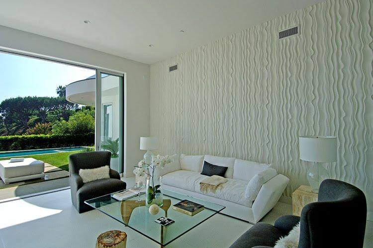 95 modelos de texturas de parede decoradas eu adorei for Texture paint designs in living room