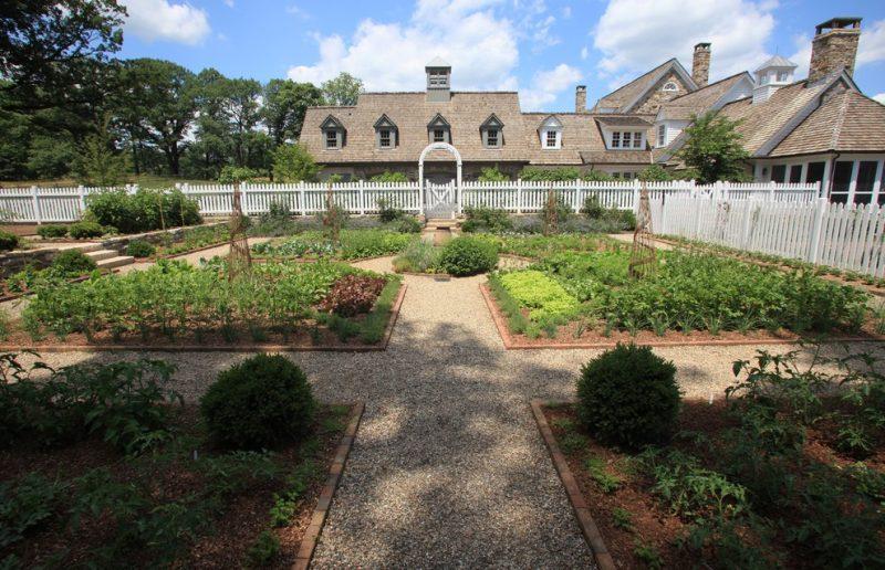 Grande horta residencial