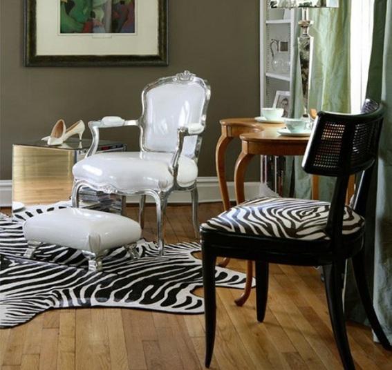 Tapete de sala de estar e sala de estar residencial