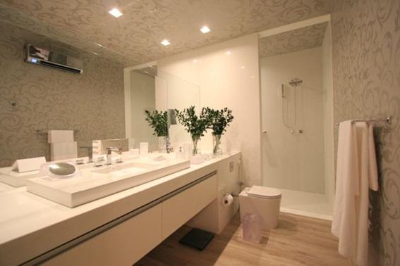 Soluções em banheiros pequenos