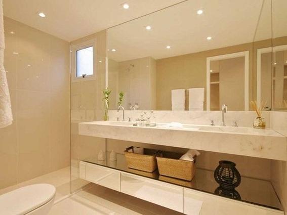 Banheiros pequenos e soluções residenciais