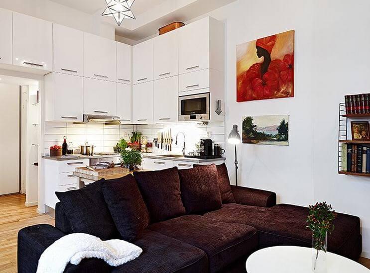 Sofá para apartamento pequeno
