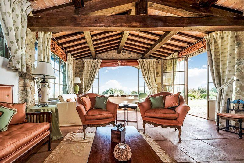 Interior de Villa Leopolda, mansão rlusuosa