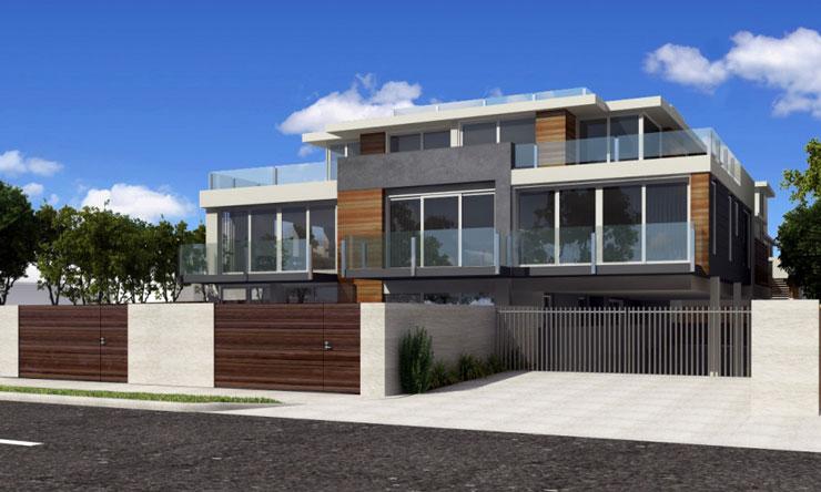 Casa contemporanea americana construindodecor for Casa contemporanea