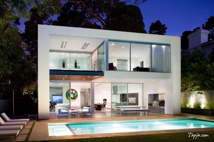 25 projetos de casas americanas fotos e ideias for Casa vivienda jardin pdf