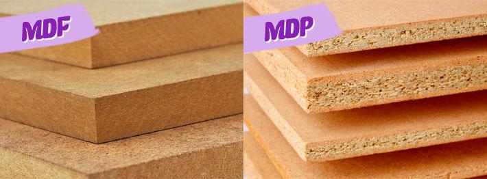 MDF e MDP