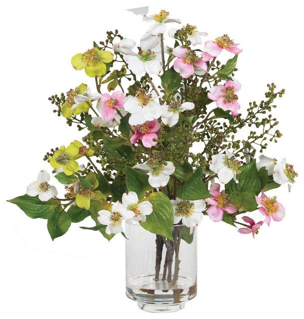 arranjo artificial de flores do campo