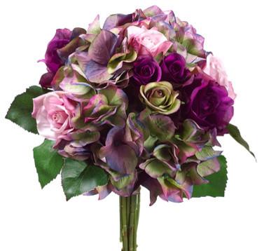 Flores lilazes