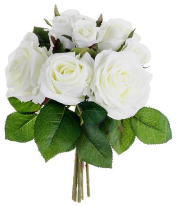 Arranjo tradicional para flores brancas