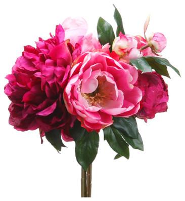 Flores decorativas artificiais