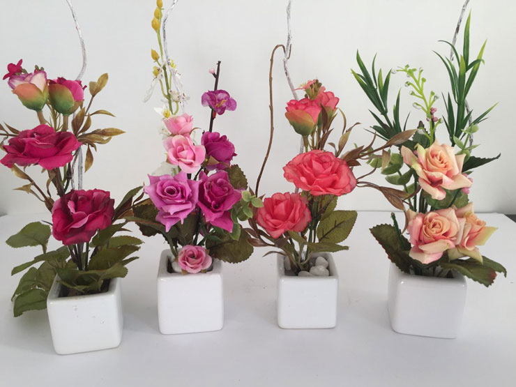 Arranjo de flores tradicionais