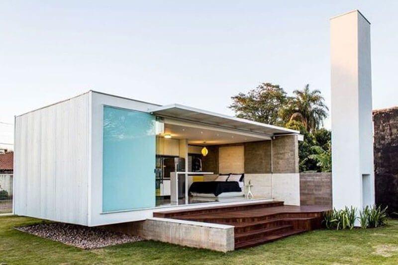 Casa de Container Pré-fabricada