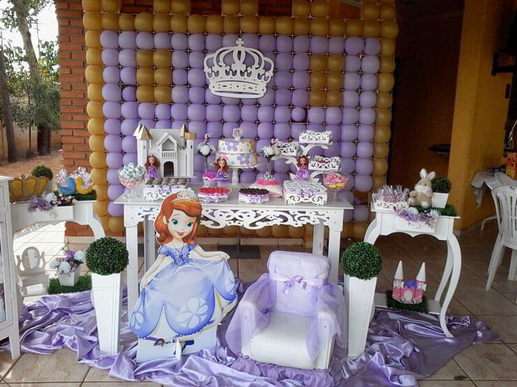 Decoração Provençal princesa Sofia
