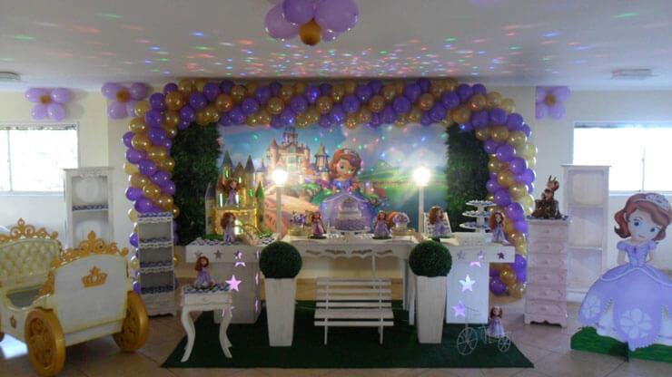 Princesa Sofia - Decoração residencial