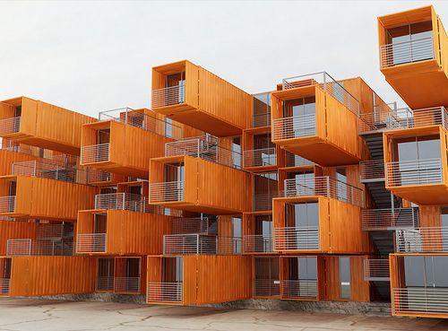 Casa Contêiner - Condomínio Habitacional