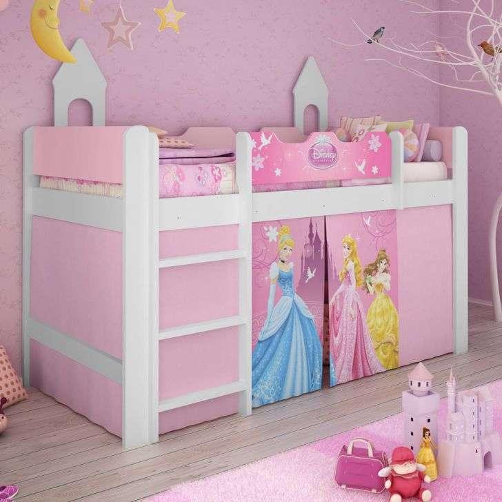 35 ideias de quarto de princesa fotos modelos veja for Cama infantil