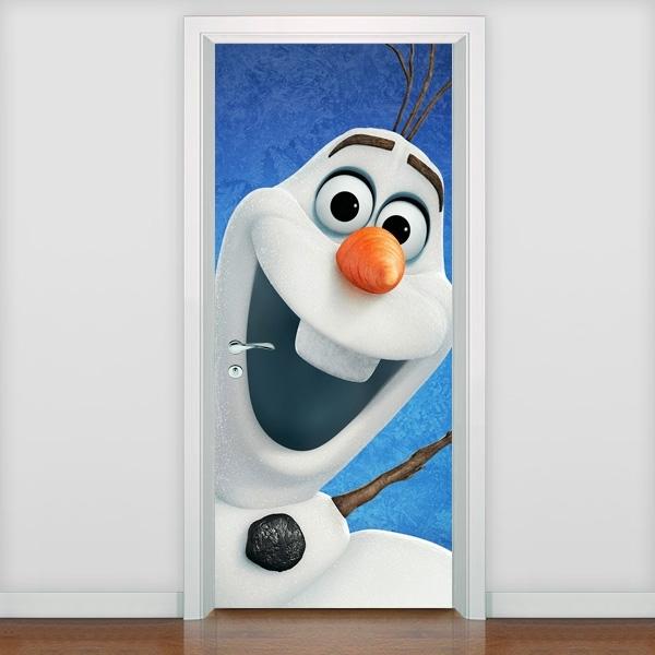 Adesivo para Porta Olaf