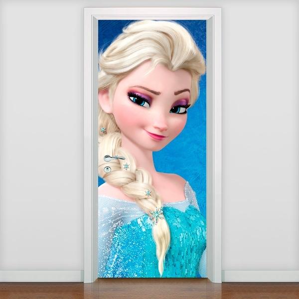 Adesivo para Porta Elsa