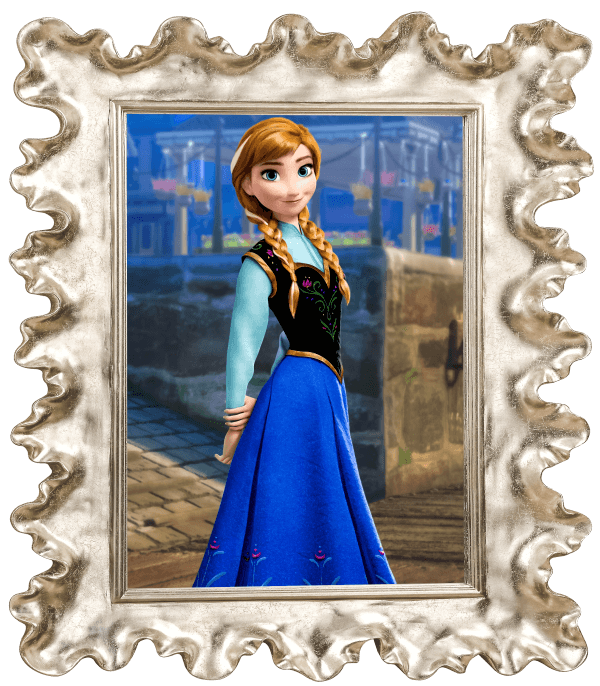 Quadro da Anna - Frozen