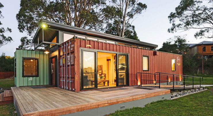 Casa bonita de Container
