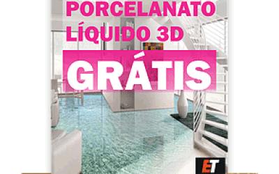 Curso de Porcelanato Líquido 3d