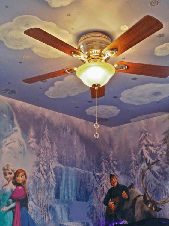 Decoração do Teto Frozen
