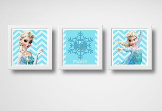 Kit de Quadros da Elsa