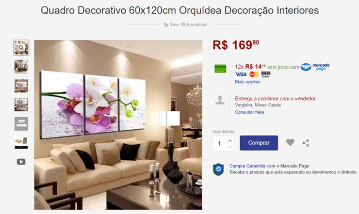 Preço de quadro Decorativo