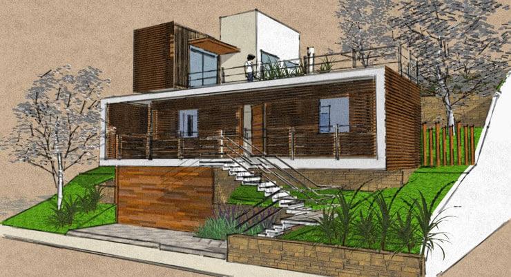 Projeto de Casa Contêiner