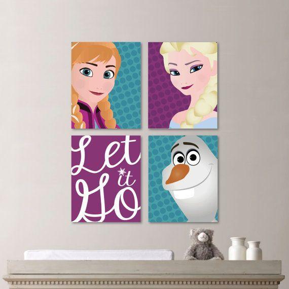"""Quadro Frozen - """"Let it Go"""""""