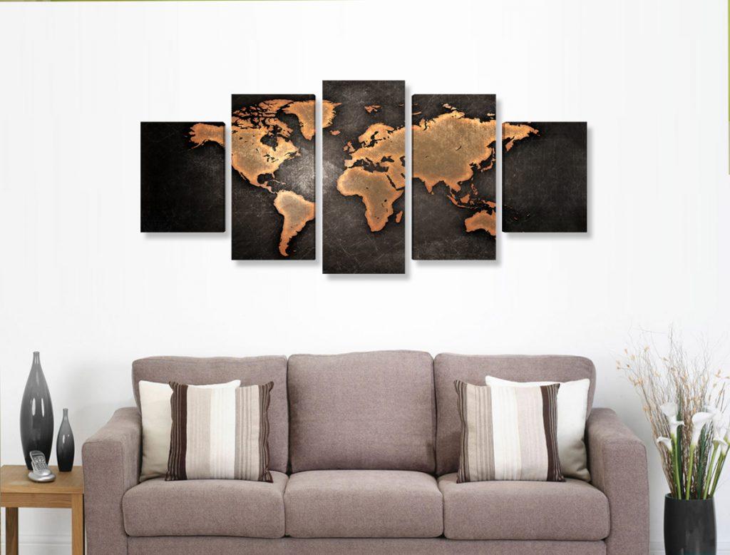Kit do Mapa Mundi