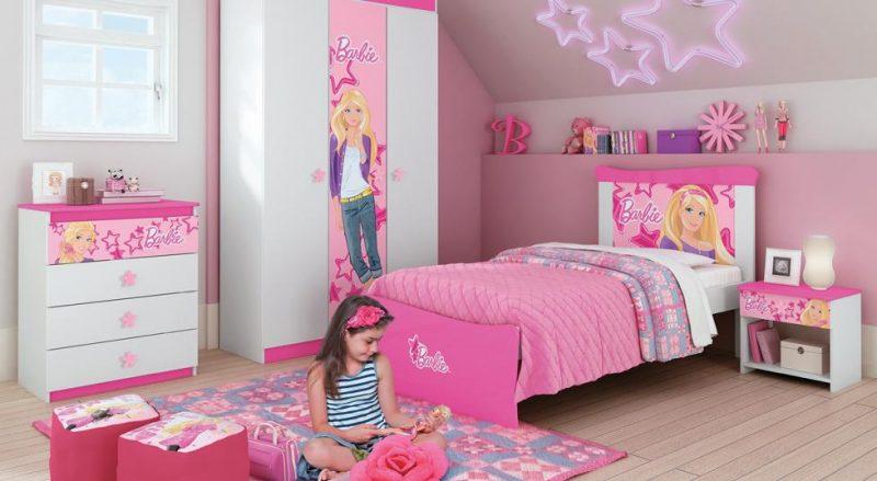 Quarto Cor de Rosa da Barbie