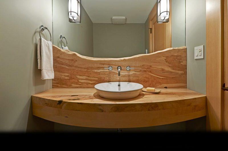 bancadas de madeira