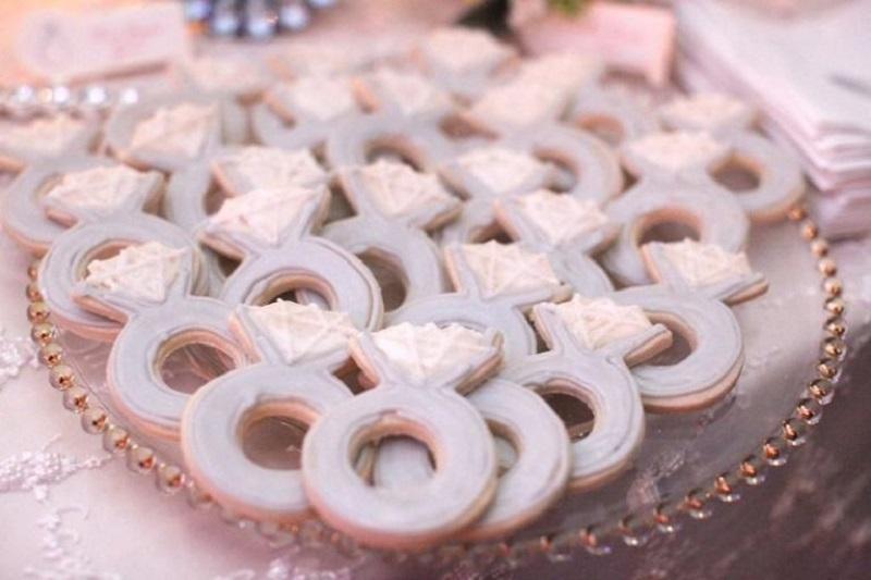 Biscoitos com formato de Aliança