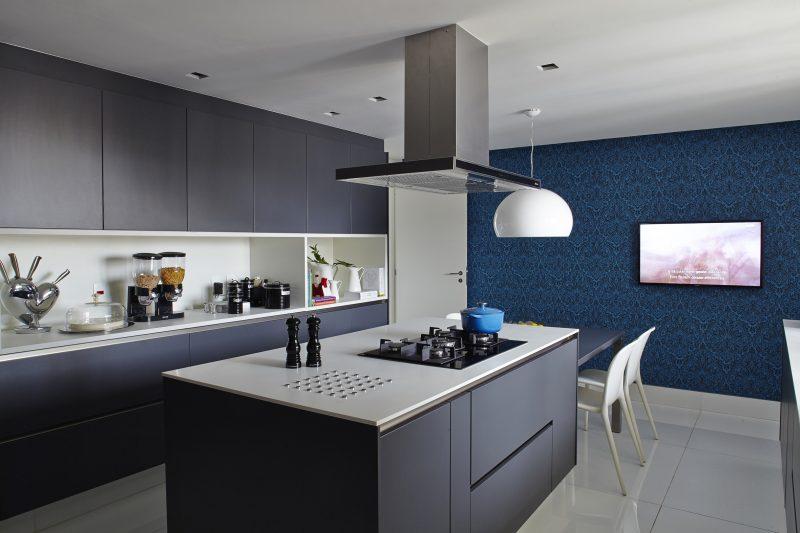 Decoração de Cozinha Azul Marinho