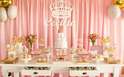 Chá para Meninas de Princesa