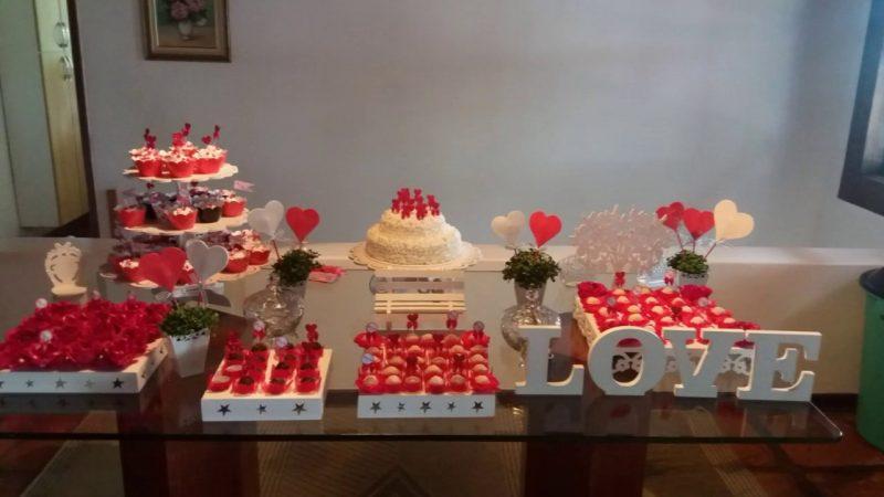 Festa de Noivado em Casa
