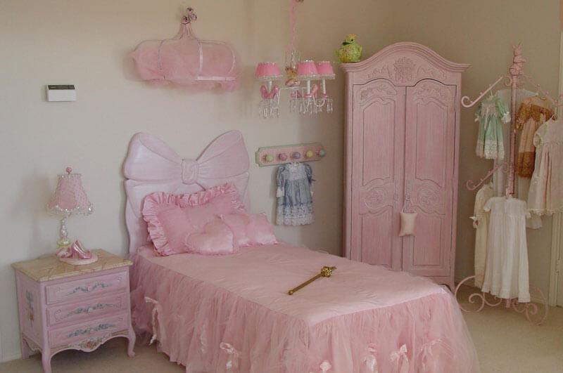 Quarto infantil tematizado de princesa