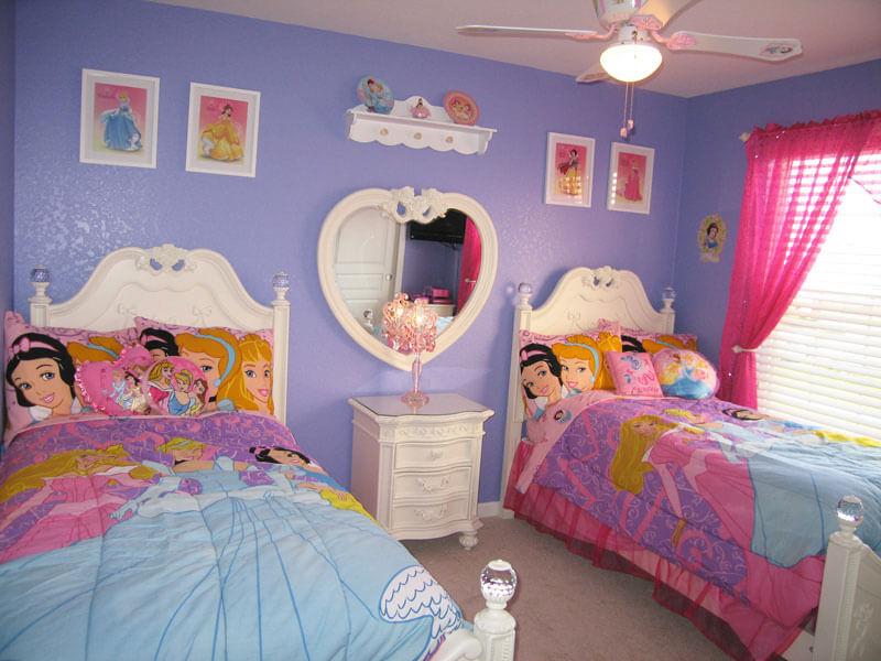 quarto princesa para meninas