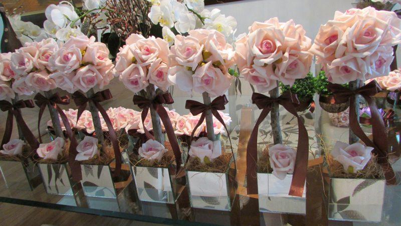 Vaso de Flor para Lembrancinha