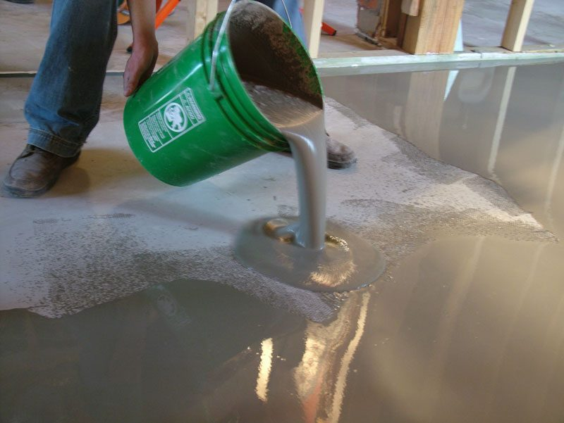 Mistura de Cimento