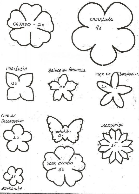 Moldes de Flores de EVA