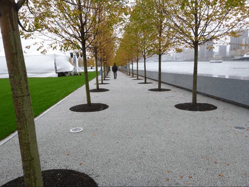 Calçada com pedra Fulget