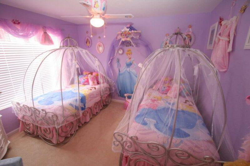 Quarto de princesas para meninas